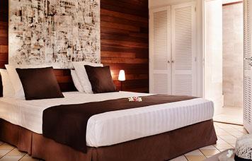 Le bungalow Kitchenette, ILOHA Seaview Hotel 3*, île de la Réunion