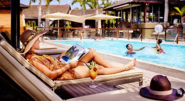 La piscine, ILOHA Seaview Hotel 3*, île de la Réunion