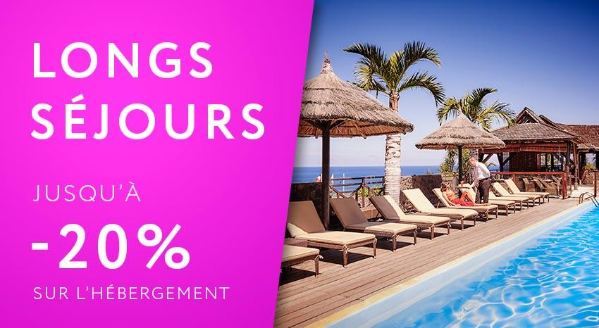 Offre spéciale longs séjours, ILOHA Seaview Hotel 3*, île de la Réunion