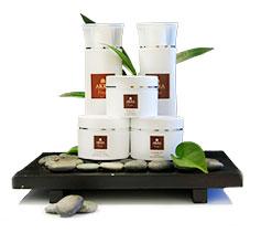 La gamme de produits Bio Akea Visage, ILOHA Seaview Hotel 3*, île de la Réunion