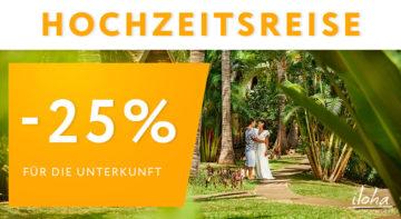 Angebot für Hochzeitsreise - Hotel iloha - Insel La Réunion