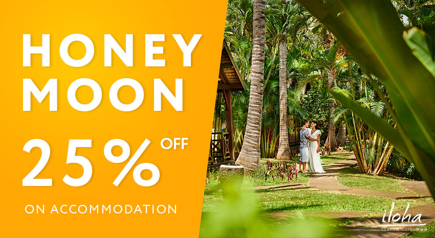 Honeymoon deal, ILOHA Seaview Hotel 3*, Reunion island