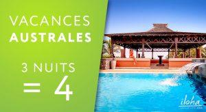 Offre spéciale 3 nuits=4 à Iloha Seaview Hotel 3* - Réunion