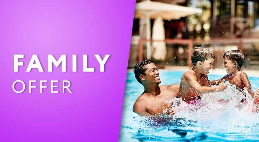 Family stay offer, ILOHA Seaview Hotel 3*, Reunion island