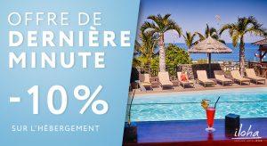 Promo de dernière minute - hôtel Réunion