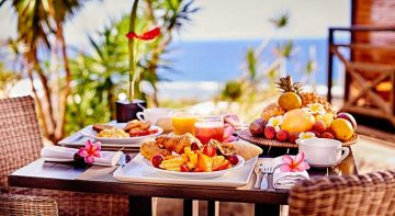 Un brunch gourmand, ILOHA Seaview Hotel 3*, île de la Réunion