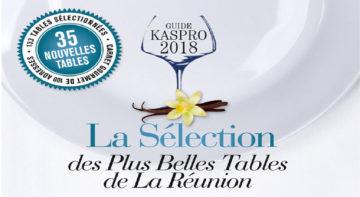Guide restaurants KASPRO 2018