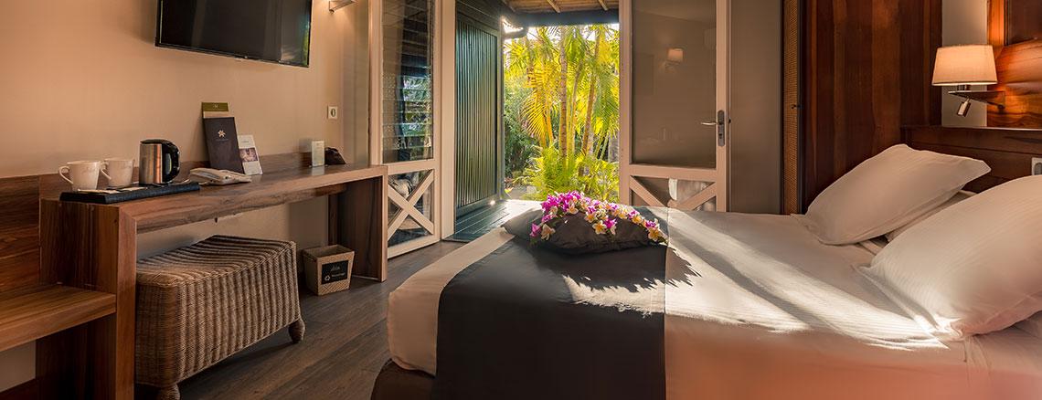 Intérieur de la chambre Standard, ILOHA Seaview Hotel 3*, île de la Réunion