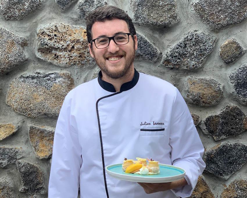 Julien Leveneur chef pâtissier